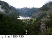 Купить «Вид на Гейрангер Фьорд. Норвегия», фото № 180730, снято 28 августа 2007 г. (c) Наталья Белотелова / Фотобанк Лори