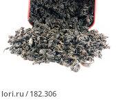 Чёрный чай. Стоковое фото, фотограф Юрий Борисенко / Фотобанк Лори