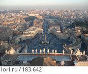 Купить «Ватикан», фото № 183642, снято 30 декабря 2007 г. (c) Дунаева Елена / Фотобанк Лори