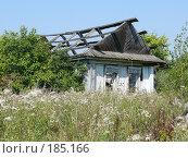 Купить «Забытый дом», фото № 185166, снято 18 августа 2007 г. (c) Максим Рыжов / Фотобанк Лори