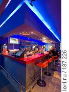 Купить «Кафе в холле боулинга. Фрагмент интерьера.», фото № 187226, снято 2 марта 2006 г. (c) Иван Сазыкин / Фотобанк Лори