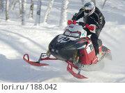 Купить «Гонка на снегоходах», фото № 188042, снято 20 января 2008 г. (c) Талдыкин Юрий / Фотобанк Лори