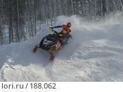 Купить «Гонка на снегоходах», фото № 188062, снято 20 января 2008 г. (c) Талдыкин Юрий / Фотобанк Лори
