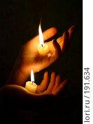 Рук тепло. Стоковое фото, фотограф Маргарита Новоселова / Фотобанк Лори