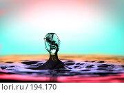 Купить «Водный всплеск», фото № 194170, снято 9 декабря 2019 г. (c) Сергей Лаврентьев / Фотобанк Лори