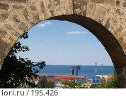 Купить «Одесский торговый порт», эксклюзивное фото № 195426, снято 21 июня 2007 г. (c) Ирина Борсученко / Фотобанк Лори