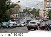 Купить «Транспортный поток», фото № 196830, снято 28 июля 2006 г. (c) Андрей Ерофеев / Фотобанк Лори