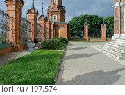 Купить «На территории Волоколамского кремля», фото № 197574, снято 26 августа 2007 г. (c) Юрий Синицын / Фотобанк Лори