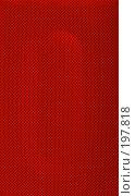 Купить «Красная защитная решетка колонки», фото № 197818, снято 7 февраля 2008 г. (c) Андрей Никитин / Фотобанк Лори