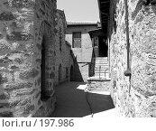 Купить «Коридор монастыря. Греция», фото № 197986, снято 1 июля 2007 г. (c) Юлия Селезнева / Фотобанк Лори