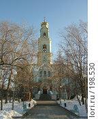 Купить «Вознесенская церковь екатеринбурга», фото № 198530, снято 3 января 2008 г. (c) Корчагина Полина / Фотобанк Лори