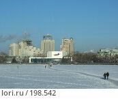 "Купить «Вид на кинотеатр ""Космос""», фото № 198542, снято 3 января 2008 г. (c) Корчагина Полина / Фотобанк Лори"