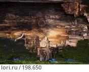Купить «Затмение солнца в горах, обнаруженное на куске фанеры», фото № 198650, снято 24 мая 2006 г. (c) Скворцов Андрей / Фотобанк Лори