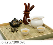 Купить «Китайская чайная церемония», фото № 200070, снято 2 декабря 2007 г. (c) Татьяна Белова / Фотобанк Лори