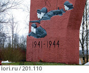 Купить «Обелиск. Город Пушкин», фото № 201110, снято 12 февраля 2007 г. (c) Александр Кокарев / Фотобанк Лори