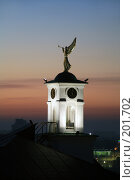 Купить «Флюгер в виде ангела на крыше Нижегородской семинарии», фото № 201702, снято 29 октября 2007 г. (c) Igor Lijashkov / Фотобанк Лори
