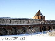 Купить «Стена Суздальского Кремля», фото № 201822, снято 7 января 2008 г. (c) Бондаренко Сергей / Фотобанк Лори