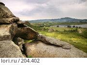 Купить «Скалы Савушки Алтай», фото № 204402, снято 23 июля 2004 г. (c) Олег Кугаев / Фотобанк Лори