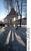 Купить «Беседка в Звенигороде», фото № 204870, снято 27 января 2008 г. (c) Бычков Игорь / Фотобанк Лори