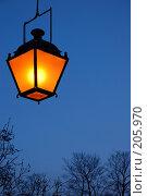 Купить «Фонарь», фото № 205970, снято 16 февраля 2008 г. (c) Марина Дмитриевых / Фотобанк Лори