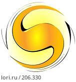 Купить «Абстрактный спиральный фон», иллюстрация № 206330 (c) Валерия Потапова / Фотобанк Лори