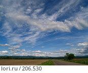 Купить «Летние облака», фото № 206530, снято 21 июня 2007 г. (c) Олег Рубик / Фотобанк Лори