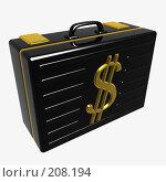 Купить «Черный кейс», фото № 208194, снято 20 ноября 2018 г. (c) Николай Лыжин / Фотобанк Лори