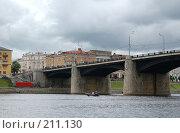 Купить «Новый мост. Тверь», фото № 211130, снято 3 августа 2007 г. (c) Елена Прокопова / Фотобанк Лори