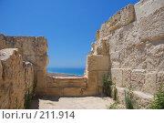 Купить «Кипр: руины древнего Куриона», фото № 211914, снято 8 июля 2007 г. (c) Елена Падарян / Фотобанк Лори