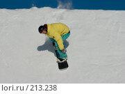 Купить «Прыжок сноубордиста», фото № 213238, снято 8 февраля 2008 г. (c) Талдыкин Юрий / Фотобанк Лори