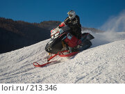 Купить «Гонка на снегоходах», фото № 213346, снято 20 января 2008 г. (c) Талдыкин Юрий / Фотобанк Лори
