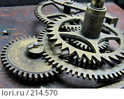 Механизм. Стоковое фото, фотограф Талдыкин Юрий / Фотобанк Лори