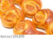 Купить «Маленькие булочкис джемом, макро», фото № 215870, снято 5 марта 2008 г. (c) Угоренков Александр / Фотобанк Лори
