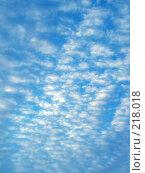 Купить «Облака. Голубое небо», фото № 218018, снято 27 февраля 2020 г. (c) ElenArt / Фотобанк Лори