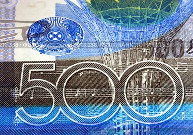 Купить «Деньги. Казахстан», фото № 218338, снято 18 августа 2018 г. (c) ElenArt / Фотобанк Лори