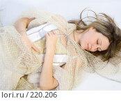 Купить «Спящая красавица», фото № 220206, снято 4 января 2008 г. (c) Евгений Батраков / Фотобанк Лори