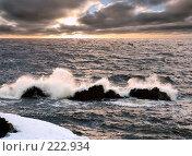 Купить «Волнения на море. Полуостров Таймыр», фото № 222934, снято 19 июля 2005 г. (c) Егорова Елена / Фотобанк Лори