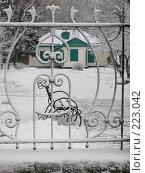 Купить «Домик Чехова в Таганроге. Зимний вид.», фото № 223042, снято 9 марта 2005 г. (c) Игорь Струков / Фотобанк Лори