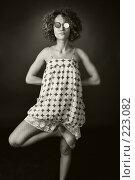 Купить «Портрет девушки в очках», фото № 223082, снято 14 июля 2007 г. (c) Кирилл Николаев / Фотобанк Лори