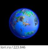 Купить «Голубая планета», иллюстрация № 223846 (c) Валерия Потапова / Фотобанк Лори