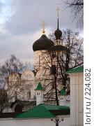 Купить «Дмитров. Борисоглебский собор на закате.», фото № 224082, снято 26 февраля 2008 г. (c) Julia Nelson / Фотобанк Лори