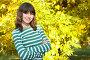Девушка-подросток в парке, фото № 225190, снято 19 сентября 2017 г. (c) Роман Сигаев / Фотобанк Лори