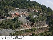Купить «Щебеночный завод. Отвалы и заводские строения», фото № 228254, снято 19 августа 2007 г. (c) Harry / Фотобанк Лори