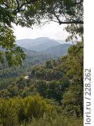 Купить «Извилистый горный серпантин», фото № 228262, снято 19 августа 2007 г. (c) Harry / Фотобанк Лори