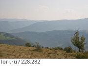 Купить «Холмистый пейзаж. Идеальная заставка», фото № 228282, снято 19 августа 2007 г. (c) Harry / Фотобанк Лори