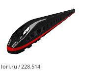 Купить «Черный поезд», иллюстрация № 228514 (c) ИЛ / Фотобанк Лори