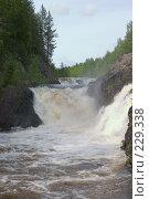 Купить «Карелия. Водопад Кивач», фото № 229338, снято 10 июня 2007 г. (c) Инга Лексина / Фотобанк Лори