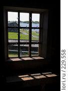 Купить «Карелия. Остров Кижи. Окно в Покровской церкви  (1714 г.)», фото № 229558, снято 10 июня 2007 г. (c) Инга Лексина / Фотобанк Лори