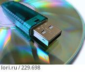 Купить «Защита информации. Электронный ключ», фото № 229698, снято 11 марта 2019 г. (c) Владимир Сергеев / Фотобанк Лори