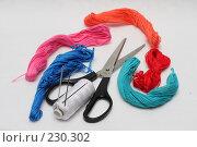 Купить «Набор для рукоделия», фото № 230302, снято 23 марта 2008 г. (c) ФЕДЛОГ.РФ / Фотобанк Лори